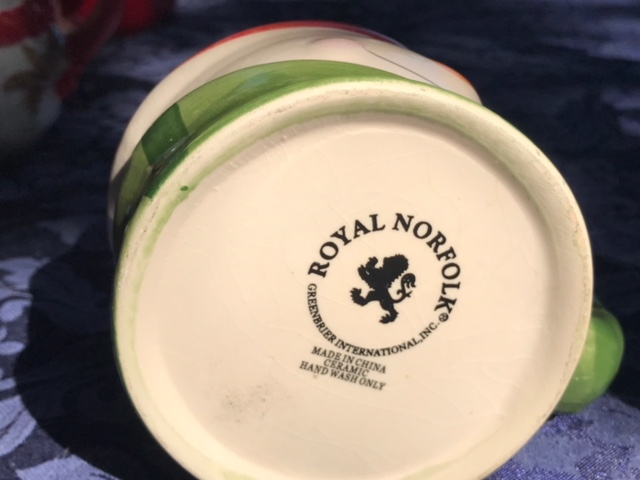 Royal Norfolk Ceramic Snowman Christmas Mug: as high as 1007 ppm Lead + Cadmium