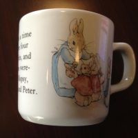 2007 Peter Rabbit Wedgwood China Baby Cup