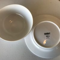 Crate And Barrel Made In Indonesia 2018 New White Dishware Lead Safe Mama Tamara Rubin 1