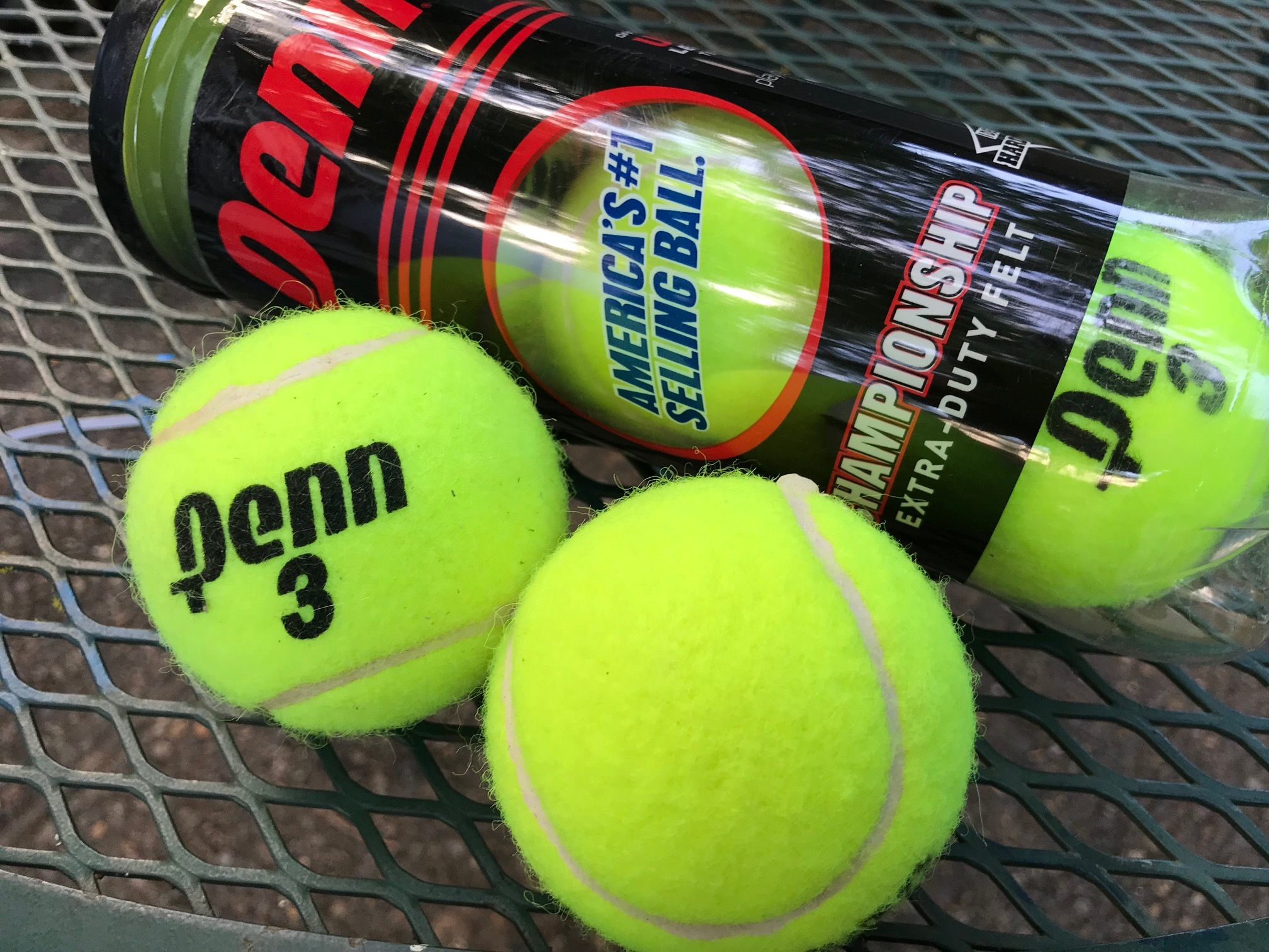 Penn Championship Extra-Duty Felt Tennis Balls