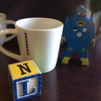 Starbucks Ceramic Espresso Mug 2014 Tamara Rubin Lead Safe Mama