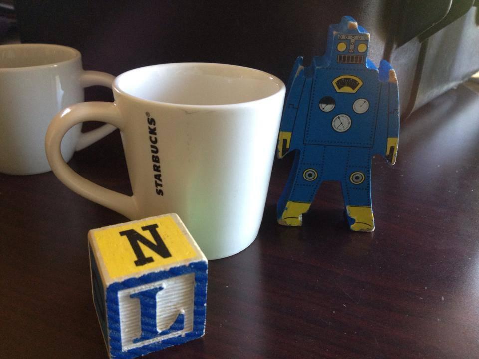 White Starbucks Espresso Mug, c. 2014