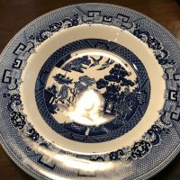 Willow Johnson Bros Wedgwood Earthenware Pasta Bowl Tamara Rubin Lead Safe Mama 1