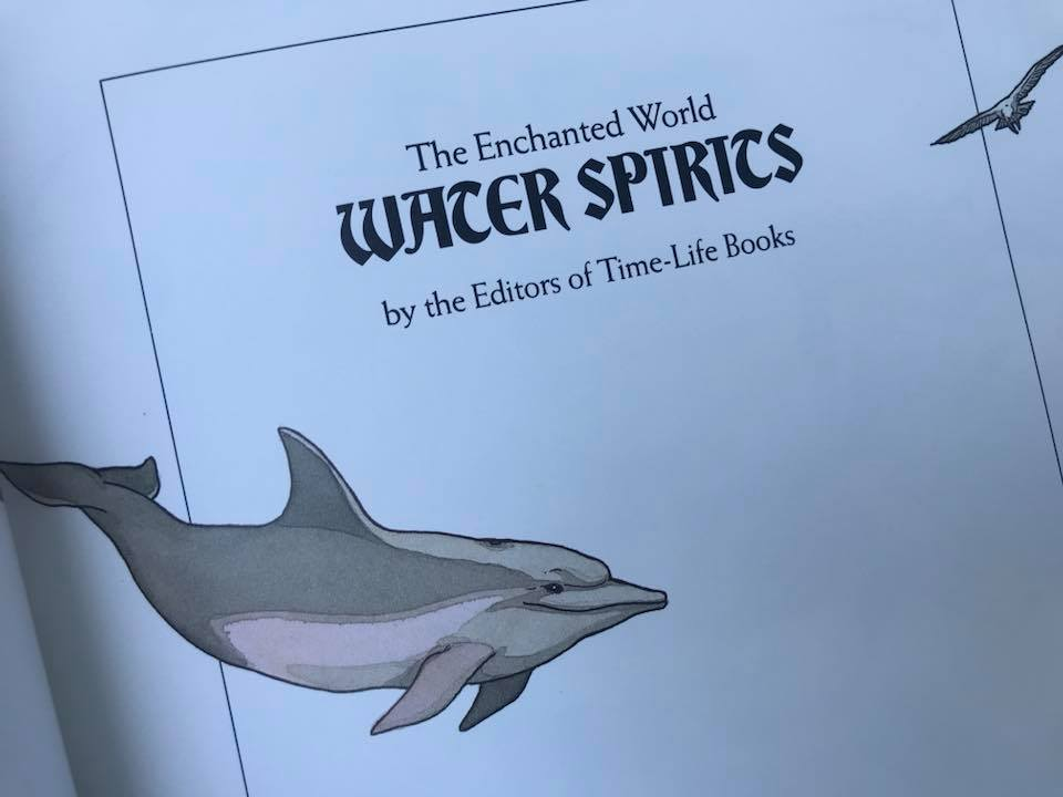 1985 Time Life The Enchanted World Water Spirits Hardcover Book