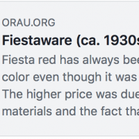 Fiestaware Toxicity Article