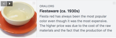 An Interesting Article About Vintage / Historic Fiestaware Toxicity