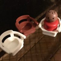 Vintage Fisher Price Toy Lead Safe Mama Chairs 1