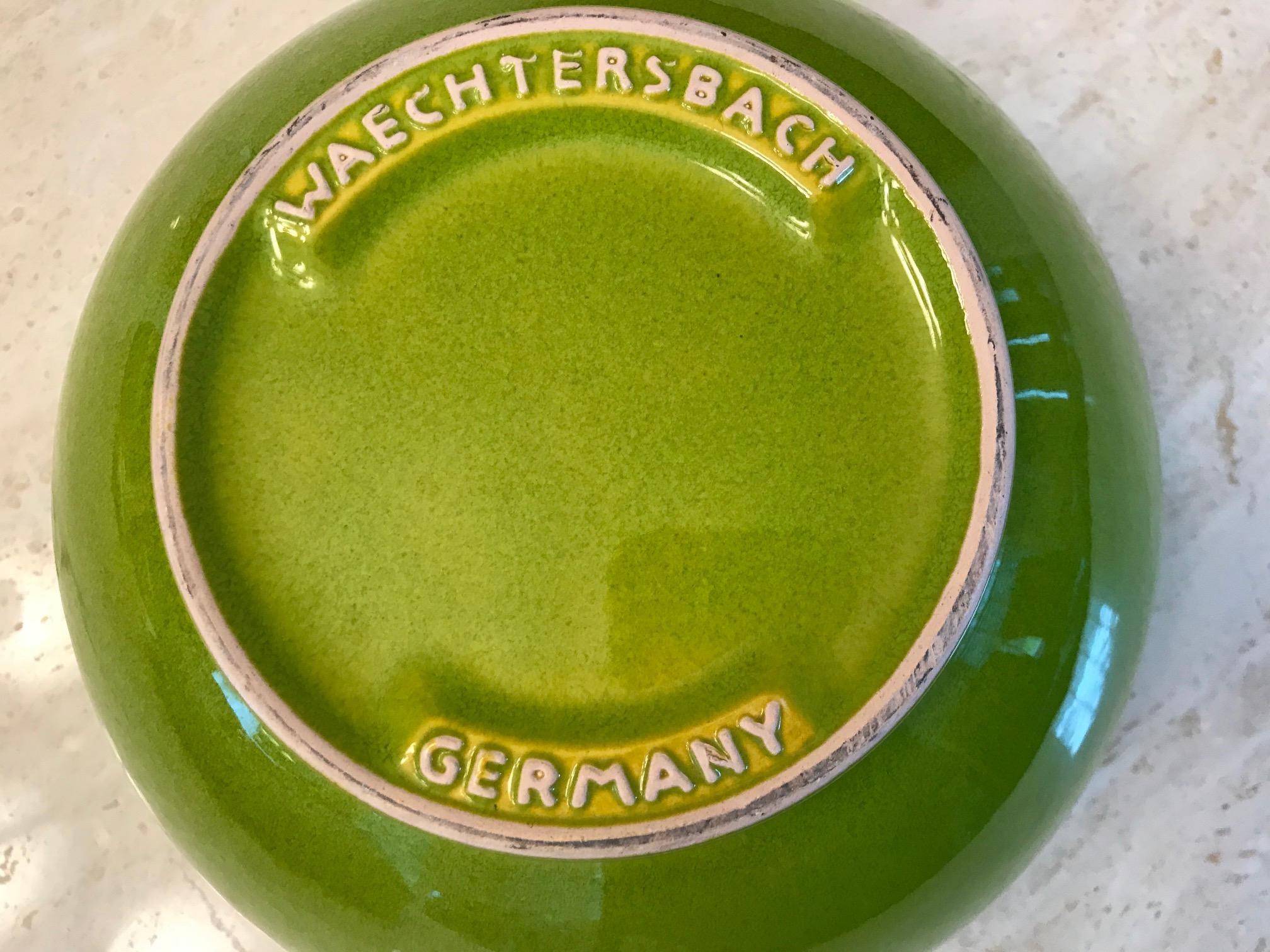 Green Waechtersbach German Nesting Bowl, c. 2009