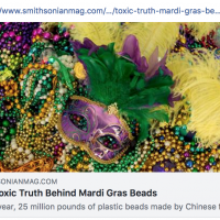 Mardi Gras Beads Toxic Truth