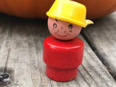 XRF [Heavy Metals] Test Results for Vintage Fisher Price Little People Red Wooden Boy With Yellow Pot On Head