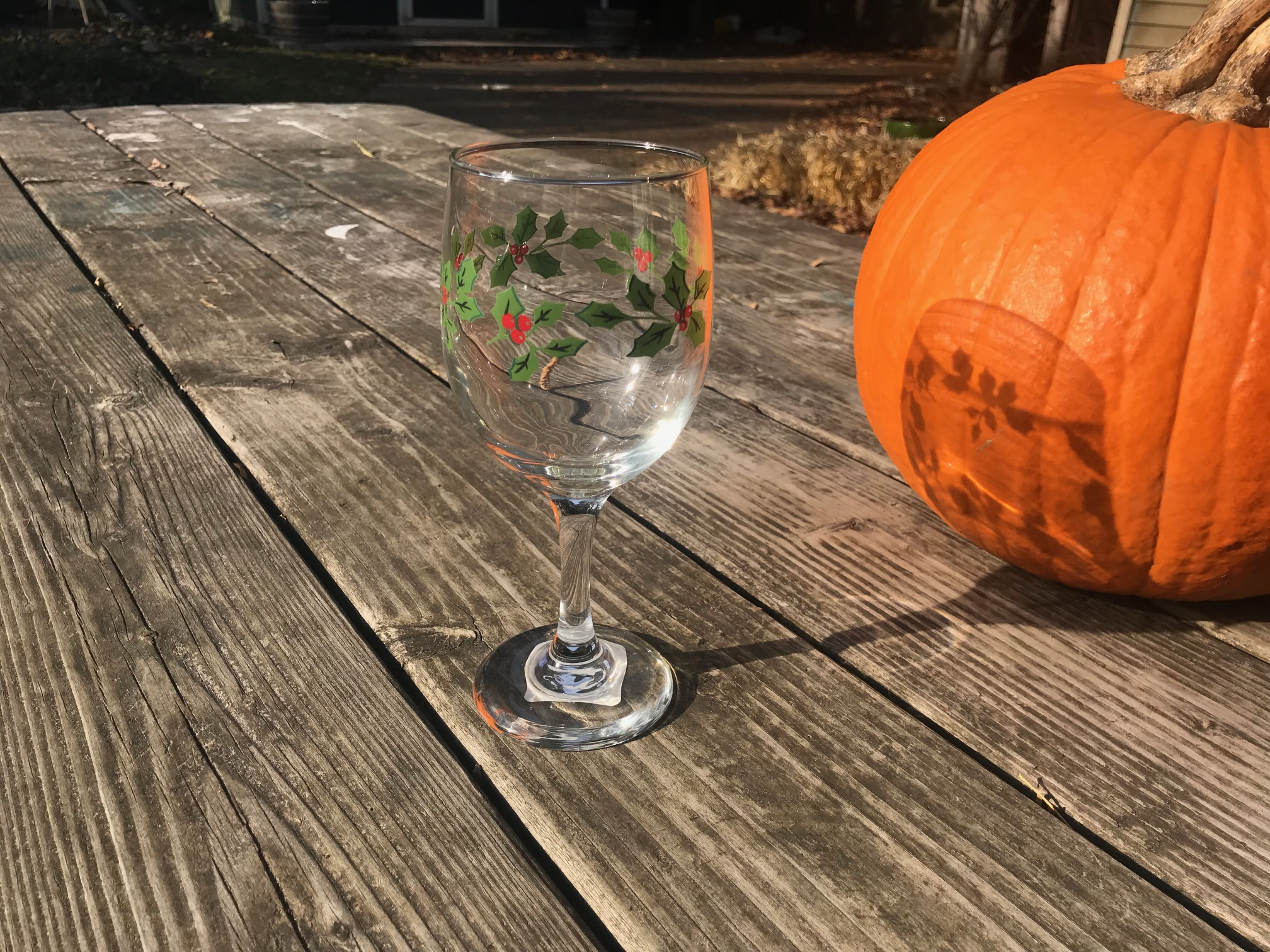 2018 Dollar Tree Store Christmas Wine Glass By Greenbrier International: 1,299 ppm Cadmium