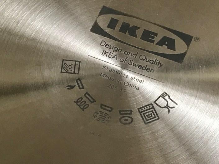 2018 Ikea Stainless 2.5 Liter Cooking Pot: #LeadFree