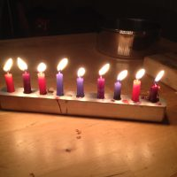 Menorah My Husband Made Me Lead Safe Mama
