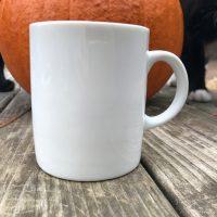 PB Classic Pottery Barn White Ceramic Mug Lead Safe Mama 2