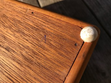 XRF Test Results For Vintage Handmade Wooden Percussion Drum