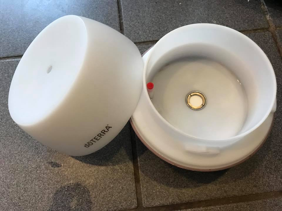 Center washer in doTerra essential oil diffuser: 3,613 ppm Lead when tested with an XRF instrument.