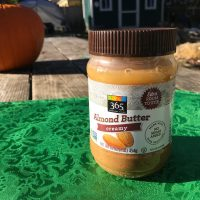 Whole Foods 365 Brand Almond Butter in a Plastic Jar 1 Lead Safe Mama c
