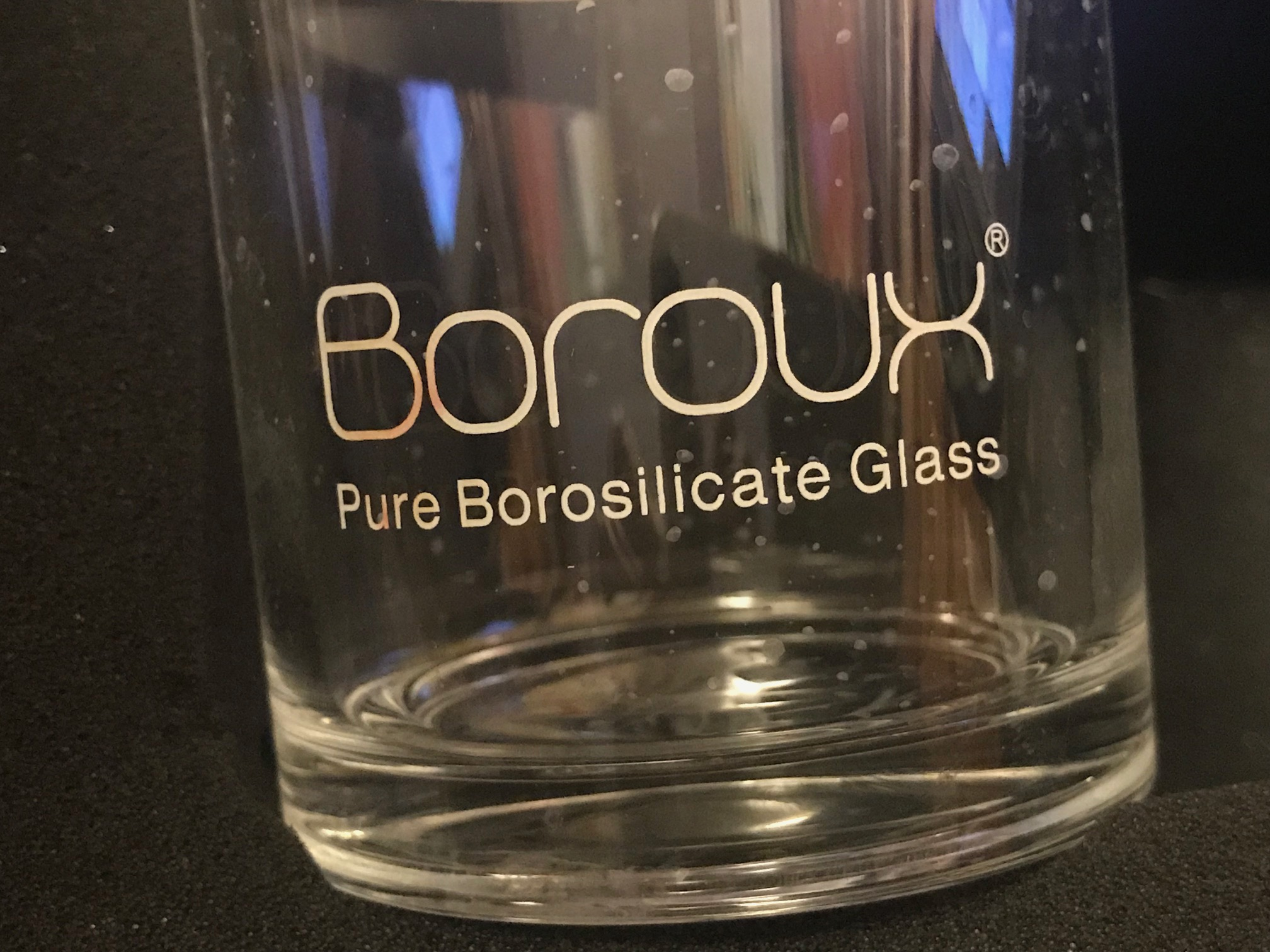 "Boroux ""Lead Free"" Water Bottle is Painted with Leaded Paint: 2,235 ppm Lead, 140 ppm Cadmium, 310 ppm Arsenic."