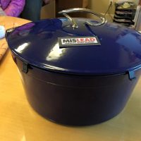 Dark Blue Lodge Dutch Oven Lead Safe Mama 3