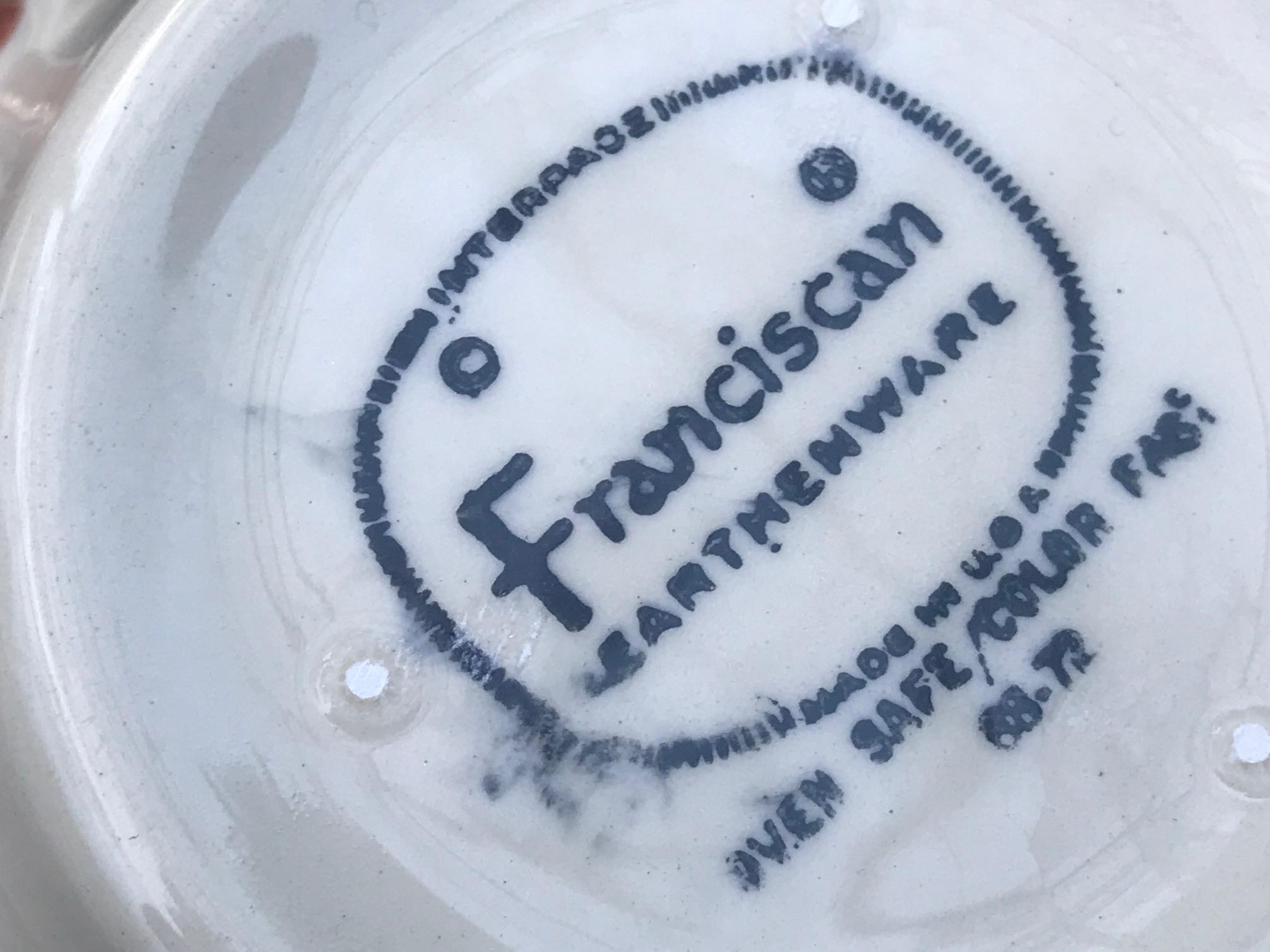 Vintage (c. 1950s) Franciscan Apple Earthenware Sugar Bowl: 161,200 ppm Lead