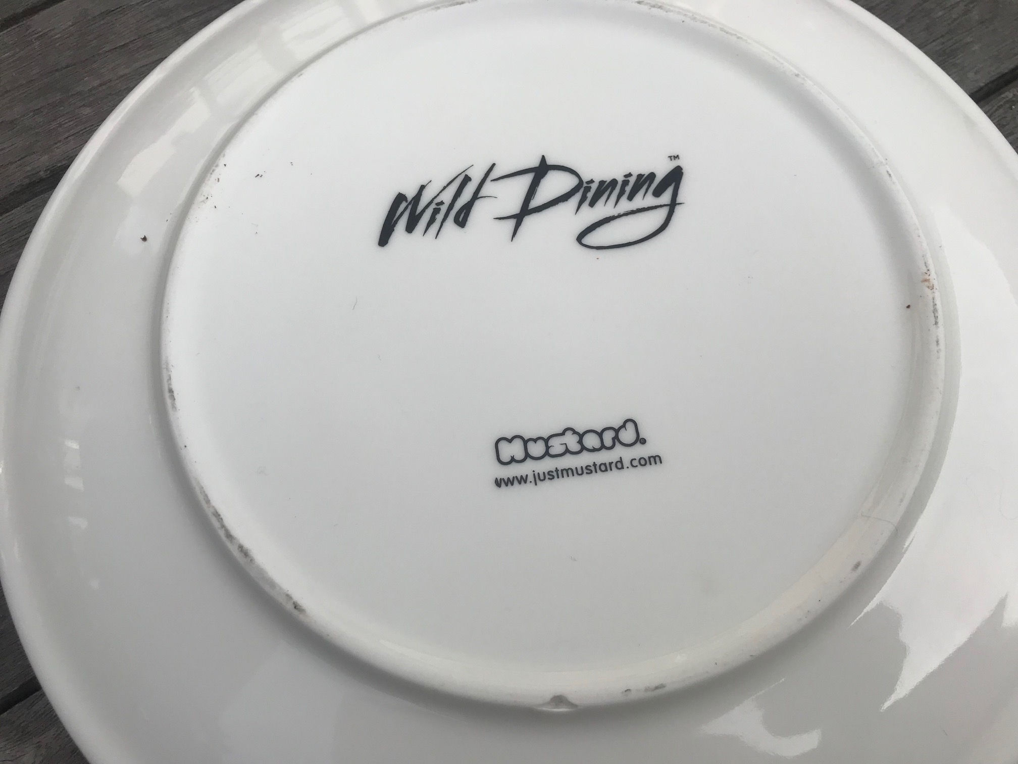 """New Wild Dining """"JustMustard"""" Brand Gorilla Plate: 22,600 +/- 600 ppm Lead when tested with an XRF instrument."""