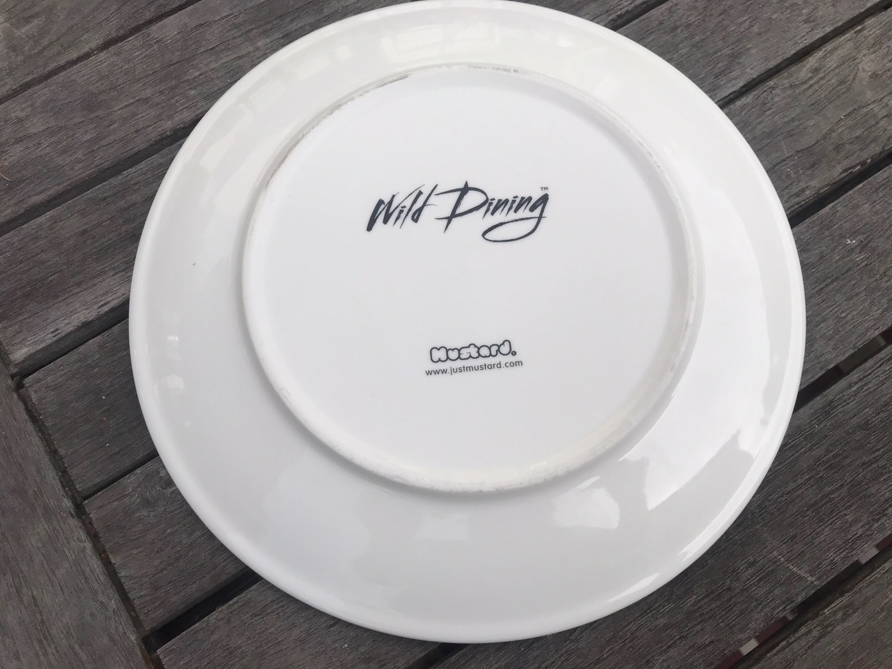 """New Wild Dining """"JustMustard"""" Brand Patricia Panda Plate: 28,800 ppm Lead when tested with an XRF instrument."""