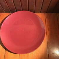 Royal Norfolk Greenbrier International Dollar Tree Store Burgundy Plate Lead Safe Mama 3
