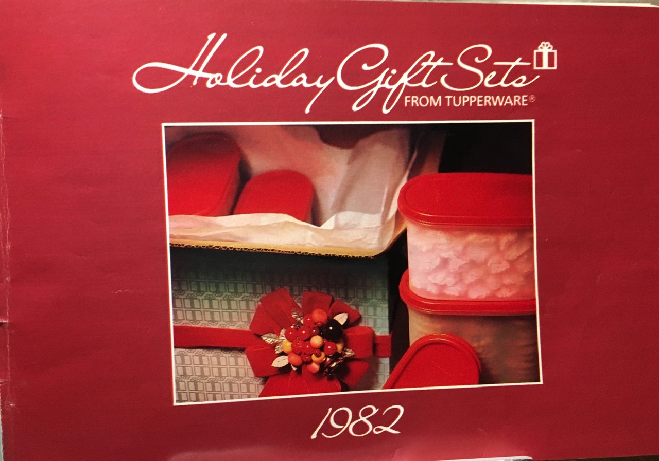 1982 Holiday Gift Sets From Tupperware Toxic Tupperware Lead Safe Mama