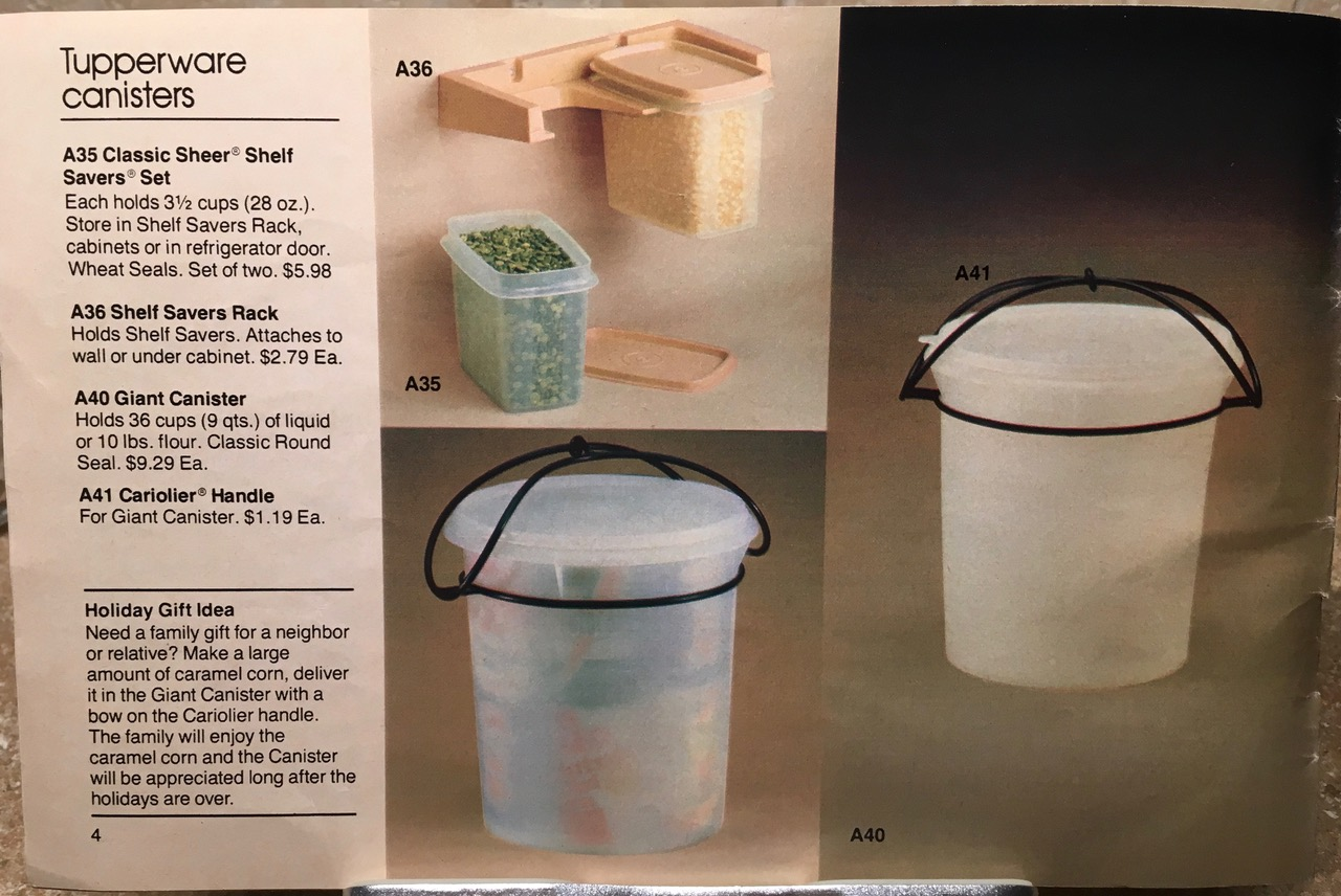 Clear Tupperware Canisters Lead Safe Mama 1982