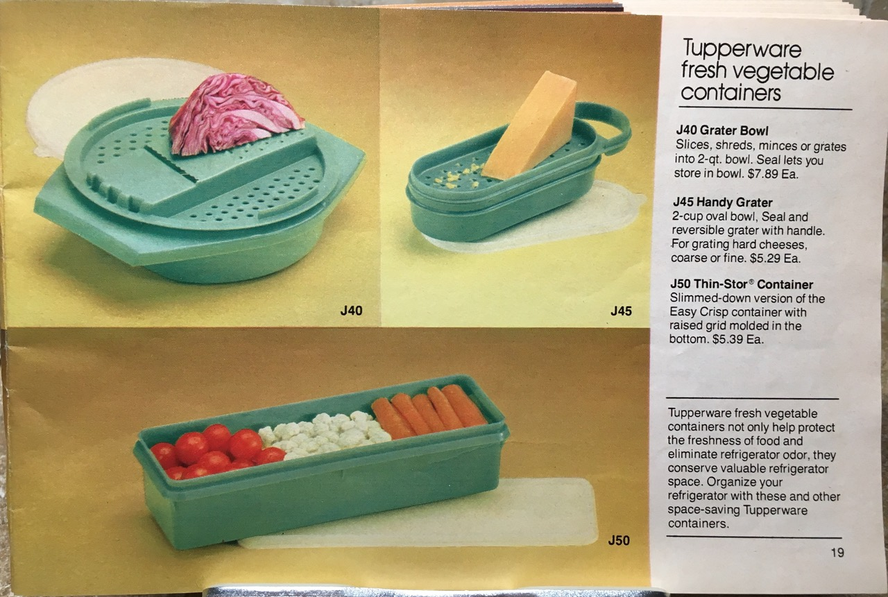 Tupperware Fresh Vegetable Containers 1982 Lead Safe Mama Toxic Tupperware