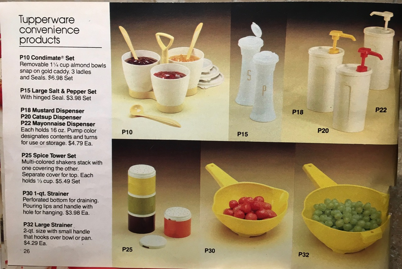 1982 Tupperware Convenience Products Toxic Tupperware Lead Safe Mama