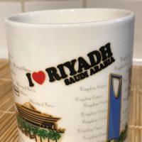 I Love Riyadh Saudi Arabia Ceramic Souvenir Mug Lead Safe Mama 4