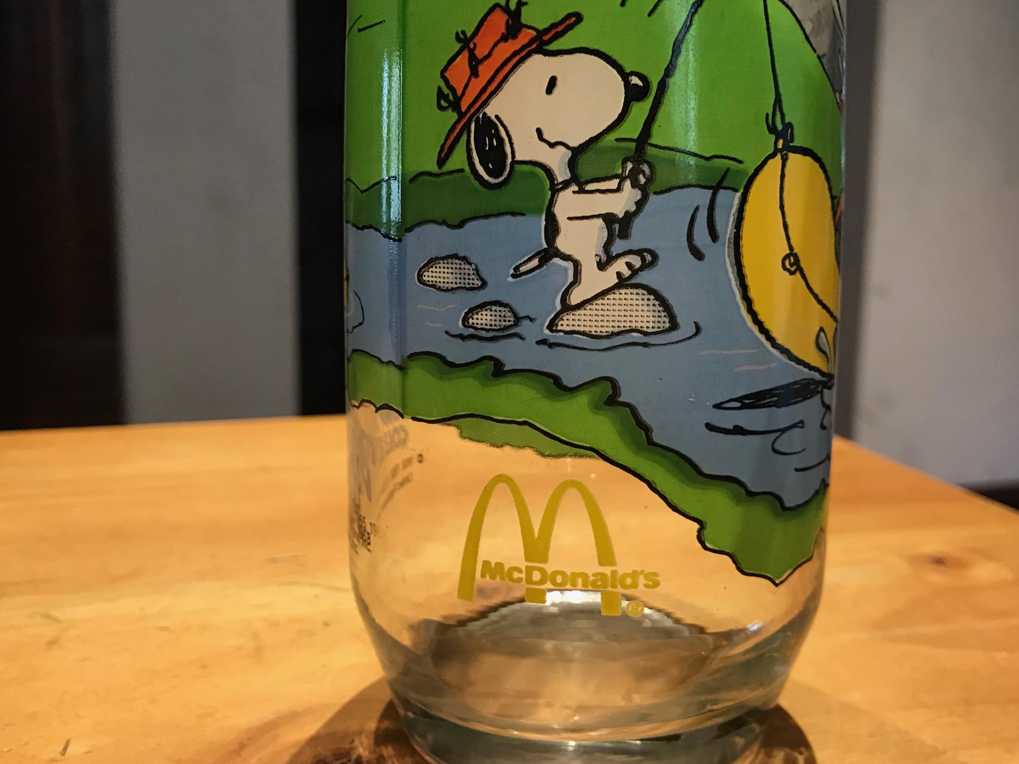 McDonald's (c. 1980s?) Camp Snoopy Collection Glass: 85,100 ppm Lead + 1,827 ppm Cadmium + 99 ppm MERCURY!