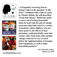 Snopes Quote Lead Safe Mama March 2019