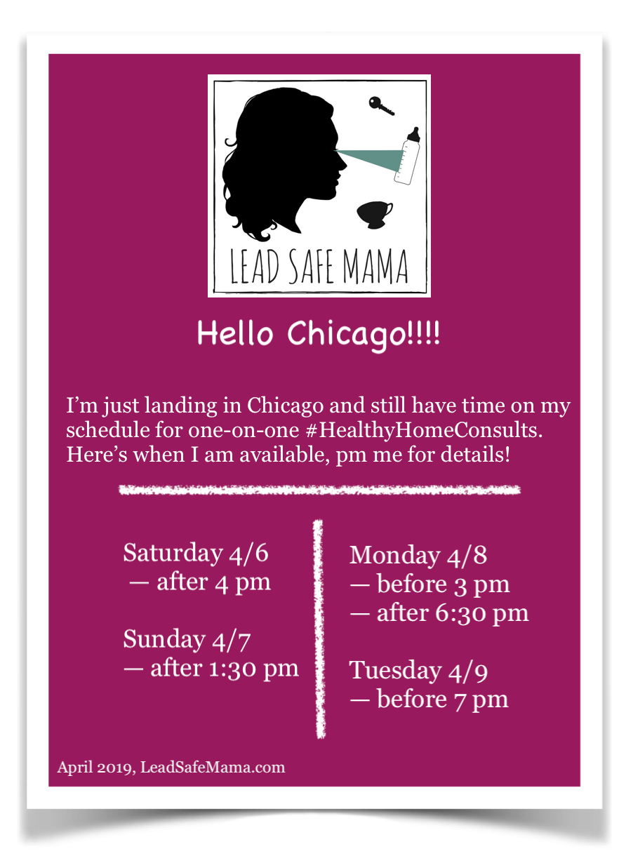 I'm in Chicago this weekend are you?