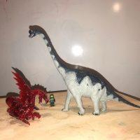 Larami Vintage Brachiosaurus Dinosaur Plastic Toy Lead Safe Mama 2