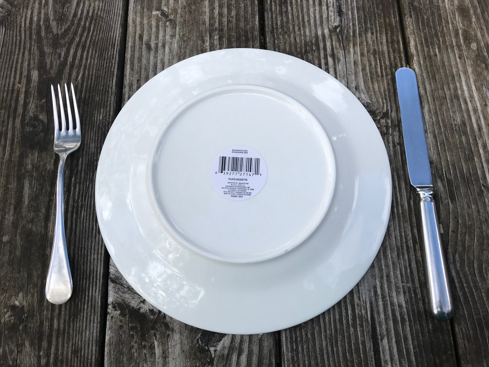 Spring 2019 Dollar Tree Store Royal Norfolk Paisley Print Dinner Plates: 60 ppm Lead + 38 ppm Cadmium (safe by all standards!)