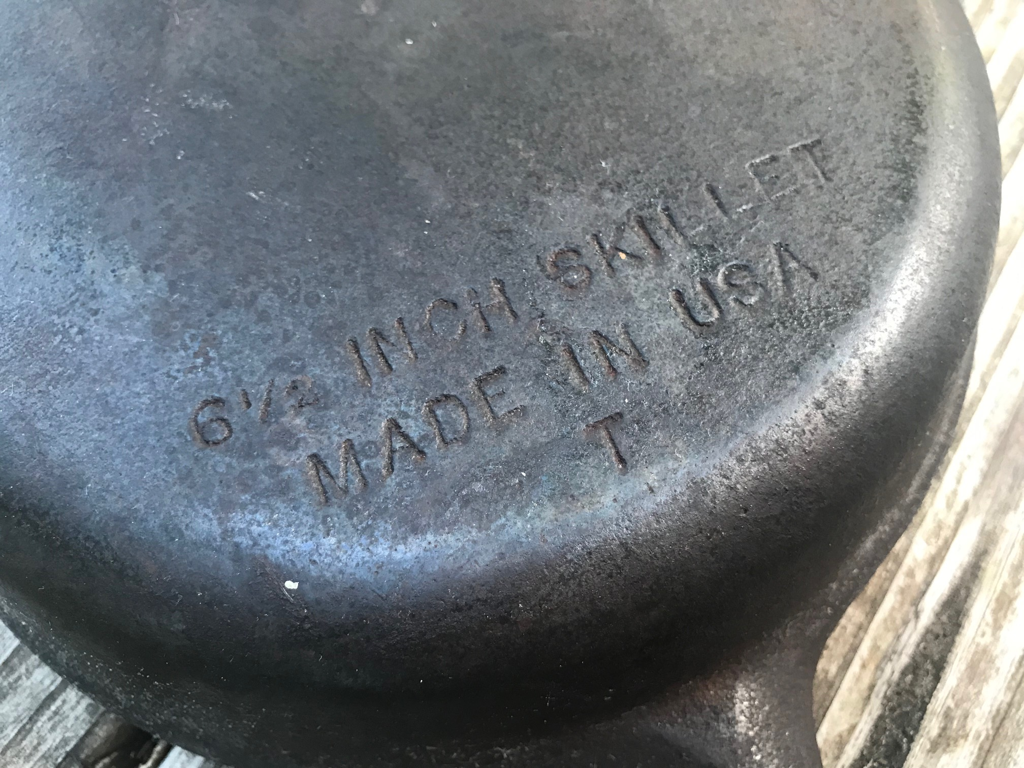 """XRF test results for small unbranded """"Made in USA"""" 6-1/2 inch cast iron skillet. What is plain cast iron made of exactly?"""