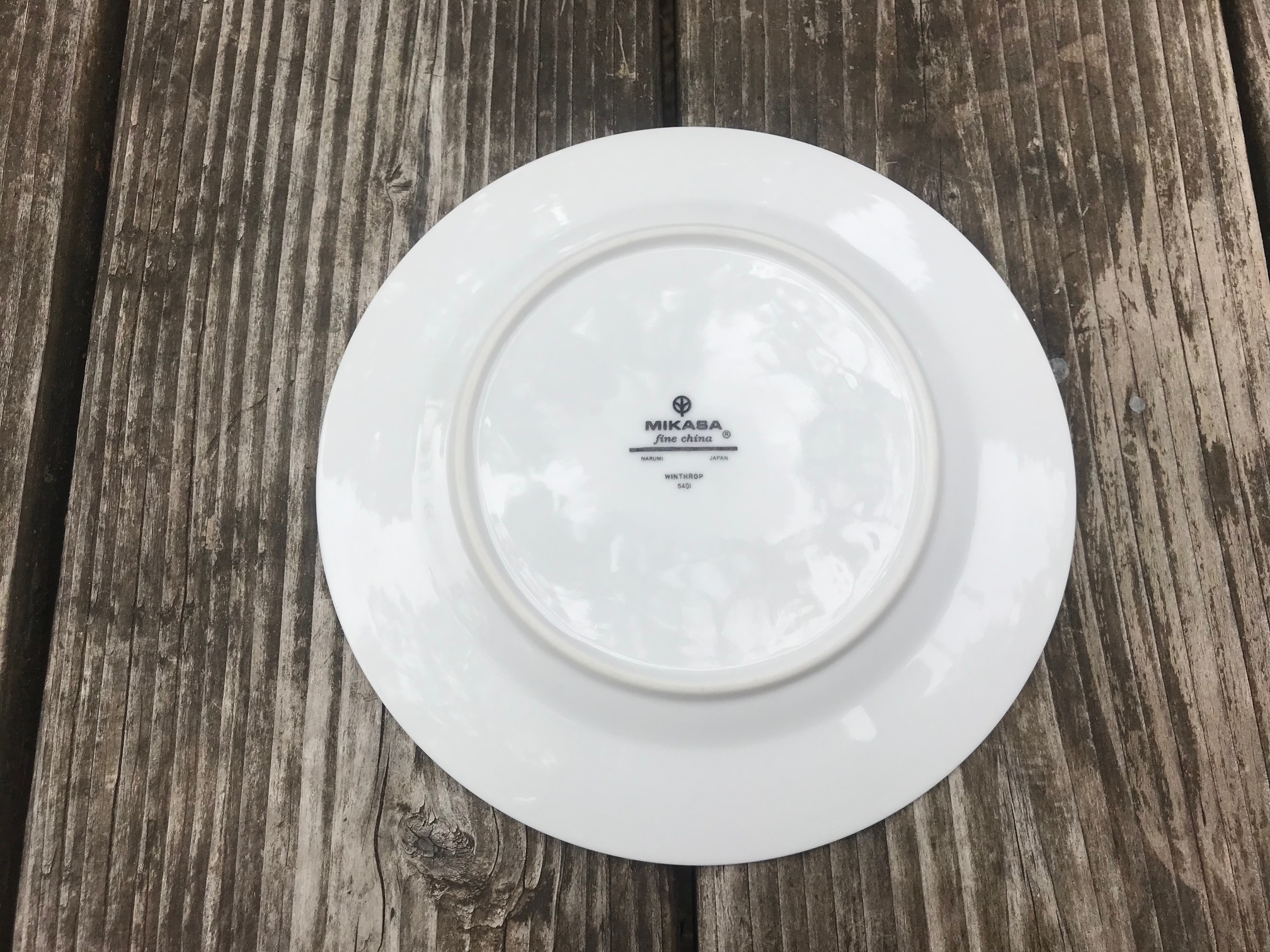"Mikasa Narumi Japan ""Winthrop"" Fine China: 4,355 ppm Lead [90 ppm is unsafe in kids' items.]"