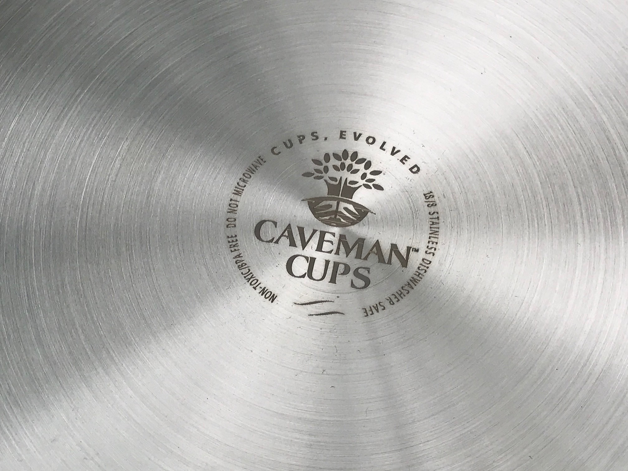"Caveman Cups ""Extreme Use"" Stainless Steel Cub Plates: #Safe! Non-detect for Lead, Cadmium, Mercury & Arsenic."