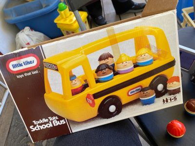 Vintage 1988 Little Tikes school bus passenger doll: 1,343 ppm Lead, + 6,479 ppm Cadmium, + 5,037 ppm Mercury(!) Please click and read the full post.