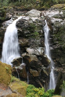 Mount Baker National Forest Waterfall, digital photograph, prices starting at $25.00