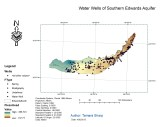 Water Wells of Southern Edwards Aquifers