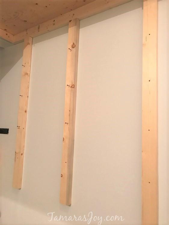 DIY Garage Lumber Rack How to Build it!