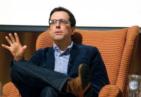 Ed Helms at Westminister Schools Beyond the Gate Series