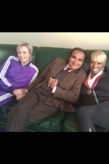 Behind the Scenes of Glee With Nene Leakes