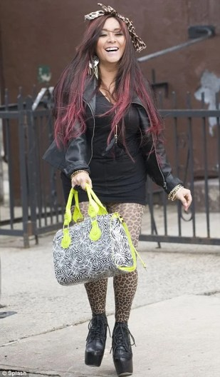 Snooki and JWoww Begin Filming New Show in Jersey City