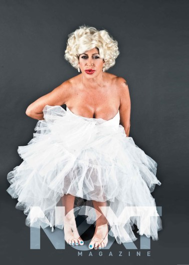 Big Ang! From Her Marilyn Monroe cover for NEXT.