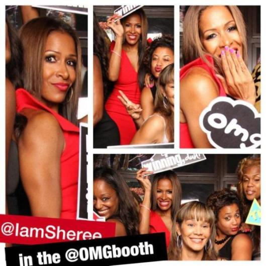 Sheree Whitfield at Aja for Charity Auction!