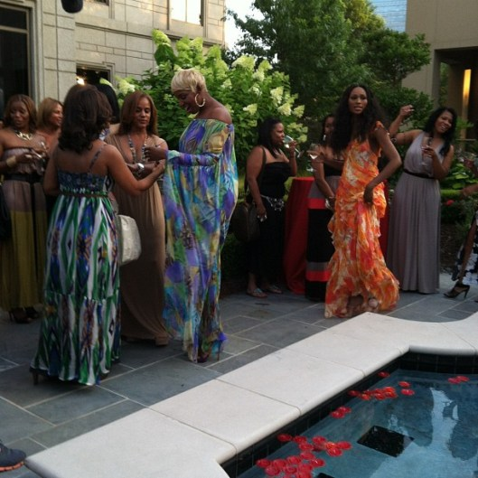 Nene Leakes Hosts Event for Season Five of RHOA